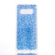 Недорогие Чехлы и кейсы для Galaxy Note-Кейс для Назначение SSamsung Galaxy Note 8 С узором Кейс на заднюю панель Сплошной цвет Сияние и блеск Мягкий ТПУ для Note 8