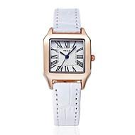 KEZZI Жен. Модные часы Японский кварц PU Группа Повседневная минималист Черный Белый