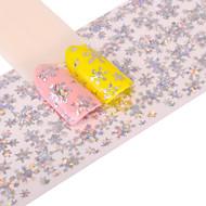 preiswerte -1 Nagel-Kunst-Aufkleber Glitzer Muster Zubehör Art déco/Retro 3-D Karton Bastelmaterial Aufkleber Make-up kosmetische Nagelkunst Design
