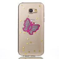 case for samsung galaxy a3 2017 a5 2017 case cover ювелирные изделия бабочка шаблон tpu материал телефон случай