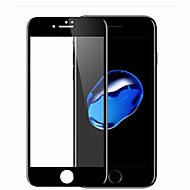Недорогие Защитные плёнки для экранов iPhone 8 Plus-Защитная плёнка для экрана Apple для iPhone 8 Pluss Закаленное стекло 1 ед. Защитная пленка для экрана 3D закругленные углы Уровень