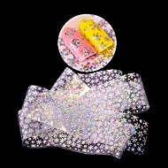 1 Nail Art autocolant Strălucire Model Αξεσουάρ Art Deco/Retro 3-D Desene Animate Consumabile DIY Autocolant machiaj cosmetice Nail Art