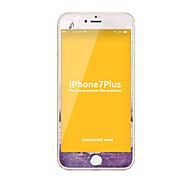Недорогие Защитные пленки для iPhone-Защитная плёнка для экрана Apple для iPhone 7 Plus Закаленное стекло 1 ед. Защитная пленка на всё устройство HD Уровень защиты 9H