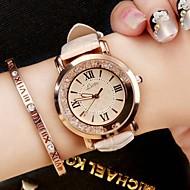 billige Modeure-Dame Modeur Armbåndsur Afslappet Ur Kinesisk Quartz / PU Bånd Luksus Glitrende Vintage Afslappet Elegant Sort Hvid Blåt Pink
