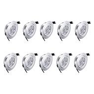 3w LED Downlights Warm White 10 pcs 85-265v High Quality LED Light