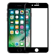 Недорогие Защитные плёнки для экранов iPhone 8-Защитная плёнка для экрана Apple для iPhone 8 Закаленное стекло 1 ед. Защитная пленка на всё устройство 3D закругленные углы Против