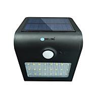 brelong solar pir-valo 24 x smd 2835 6w 500lm langaton vedenpitävä ihmiskehon induktio