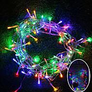 رخيصةأون -بريلونغ 10 متر 100 ليد عيد هالوين الديكور ضوء مهرجان الديكور ضوء-رغب / دافئ أبيض / أبيض (110 فولت / 220 فولت) بدون بطارية