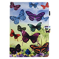 For Case Cover Card Holder with Stand Flip Magnetic Pattern Full Body Case Butterfly Hard PU Leather for Apple iPad pro 10.5 iPad (2017)