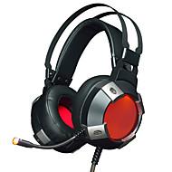 povoljno -AJAZZ AX361 Žičano Slušalice Dinamičan Tikovina plastika Igranje Slušalica S kontrolom glasnoće S mikrofonom Dvostruki upravljački
