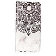 Недорогие Чехлы и кейсы для Galaxy S-Кейс для Назначение SSamsung Galaxy S8 Plus S8 Бумажник для карт Кошелек со стендом Флип С узором Чехол Мандала Твердый Кожа PU для S8