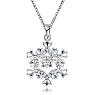 Недорогие Новогодние украшения-Жен. Геометрической формы Ожерелья с подвесками Циркон Позолоченное розовым золотом Ожерелья с подвесками , Рождество Новый год