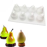 billige Køkkenredskaber-pæreform silikoneforme bagværk fransk dessert mousse kage skimmel bagning dekoration værktøjer