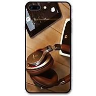 Недорогие Кейсы для iPhone 8 Plus-Кейс для Назначение iPhone X iPhone 8 С узором Задняя крышка Панк Мягкий TPU для iPhone X iPhone 8 Plus iPhone 8 iPhone 7 Plus iPhone 7
