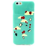 Недорогие Кейсы для iPhone 8-Кейс для Назначение iPhone X iPhone 8 С узором Задняя крышка Мультипликация Воздушные шары Мягкий TPU для iPhone X iPhone 8 Plus iPhone 8