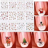 nail art autocolant transfer de apa decalcomanii machiaj cosmetice nail art design