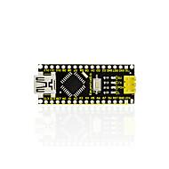 1kpl keyestudio ch340 nano-ohjainlaite yhteensopiva arduino ch340 nano usb -kaapelin kanssa