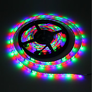 olcso LED szalagfények-5 m RGB szalagfények 300 LED 3528 SMD RGB Cuttable / Öntapadós / Színváltós 5 V 1db