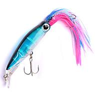 お買い得  釣り用アクセサリー-1 pcs Octopus プラスチック 海釣り / ベイトキャスティング / 川釣り / ルアー釣り / 一般的な釣り