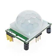 お買い得  Arduino 用アクセサリー-焦電型赤外線PIRモーションセンサーDetectorモジュール