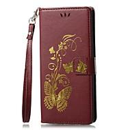 Кейс для Назначение SSamsung Galaxy Note 8 Кошелек Бумажник для карт со стендом Флип Рельефный С узором Магнитный Чехол Сплошной цвет