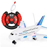 RC Airplane A380 2ch KM / H Valmiina käyttöön