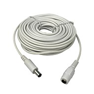Cablu prelungitor de 10m (30ft) 2.1x5.5mm dc 12v pentru camere de securitate cctv ip camera dvr standalone