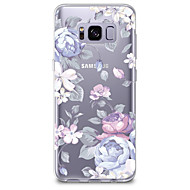 For Case Cover Transparent Pattern Back Cover Case Flower Soft TPU for Samsung Galaxy S8 Plus S8 S7 edge S7 S6 edge plus S6 edge S6 S6