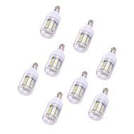 5 stuks 2W LED-maïslampen T 30 leds SMD 5730 Warm wit Wit 150lm 3000-3500/6000-6500K 110-120V