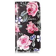 Кейс для Назначение SSamsung Galaxy S8 Plus S8 Кошелек Бумажник для карт со стендом Флип С узором Чехол Цветы Твердый Искусственная кожа