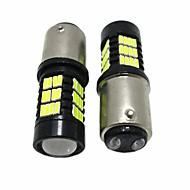 abordables Intermitentes para Coche-2pcs 1157 Coche Bombillas SMD LED 2200lm Luz de Intermitente For Universal Todos los modelos Todos los Años