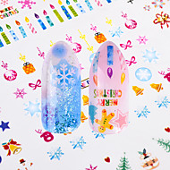 12 Nail Art Sticker  Decals 2-in-1 Case Applique Water Transfer Sticker Water Transfer Decals DIY Tools Other Decorations Sticker Makeup