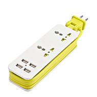 Недорогие Smart Plug-hzn403 usb зарядное плагин проезд вне штепсельная вилка смартфон быстрая зарядка универсальная розетка