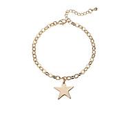 Damen Ketten- & Glieder-Armbänder Koreanisch Modisch Aleación Stern Schmuck Für Verabredung
