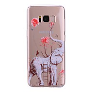 billige Galaxy S7 Etuier-Etui Til Samsung Galaxy S8 Plus S8 Transparent Mønster Bagcover Elefant Blødt TPU for S8 Plus S8 S7 edge S7 S6 edge S6