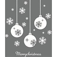 クリスマス ロマンティック 形 ウォールステッカー プレーン・ウォールステッカー 3D ウォールステッカー 飾りウォールステッカー ウェディングステッカー,ペーパー ビニール ホームデコレーション ウォールステッカー・壁用シール For 壁 ガラス/浴室
