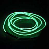 billige LED-kædelys-BRELONG® 5 m Lysslynger 0 lysdioder EL Hvid / Rød / Blå Vandtæt / Selvklæbende <5 V