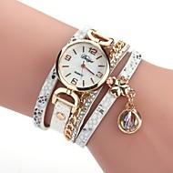 tanie Zegarki boho-Damskie Na codzień Zegarek na bransoletce Sztuczny Diamant Zegarek Chiński Kwarcowy sztuczna Diament PU Pasmo Vintage Na co dzień