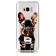 Etui Til Samsung Galaxy S8 Plus S8 Transparent Mønster Bagcover Hund Blødt TPU for S8 Plus S8 S7 edge S7 S6 edge S6