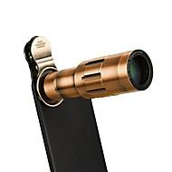 abordables Fotografía con Smartphone-lente de teléfono orsda lente telefoto zoom 20x con clip universal y mini trípode flexible para iphone y xiao mi