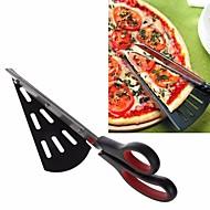 irrotettavat pizza sakset ruostumatonta terästä pizza lapio leivonta työkalut bakeware keittiö sakset