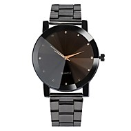 cheap Jewelry & Watches-Men's Wrist Watch Chinese Water Resistant / Water Proof / Cool Stainless Steel Band Casual / Bohemian / Fashion Black / Silver / Sony 377