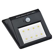 preiswerte LED Solarleuchten-1pc 2W LED Flutlichter Infrarot-Sensor / Dekorativ Natürliches Weiß <5V Außenbeleuchtung