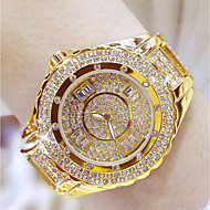 Women's Fashion Watch Unique Creative Watch Pave Watch Japanese Quartz Water Resistant / Water Proof Rhinestone Colorful Stainless Steel