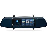 Недорогие Видеорегистраторы для авто-YI YI 1280 x 480 Автомобильный видеорегистратор 140° Широкий угол 6.95 дюймовый Емкостный экран Капюшон с IOS APP / Android APP / WIFI Автомобильный рекордер / GPS / Ночное видение / Режим парковки