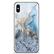 Недорогие Кейсы для iPhone 8 Plus-Кейс для Назначение Apple iPhone X iPhone 8 Plus С узором Задняя крышка Мрамор Мягкий TPU для iPhone X iPhone 8 Plus iPhone 8 iPhone 7