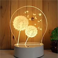 olcso -1 készlet a 3d hangulat éjszakai fény kéz érzés dimmable usb powered ajándék lámpa pitypang
