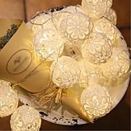 halpa LED-hehkulamput-10 led 1,5m tähti vaalea vedenpitävä liitin ulkona loma koristelu valo johti merkkijono valo