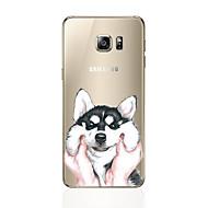 Недорогие Чехлы и кейсы для Galaxy S8 Plus-Кейс для Назначение SSamsung Galaxy S8 Plus / S8 С узором Кейс на заднюю панель С собакой Мягкий ТПУ для S8 Plus / S8 / S7 edge