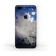 olcso iPhone kijelzővédők-1 db Tok matrica mert Karcolásvédő Látvány Minta Matt PVC iPhone 7 Plus